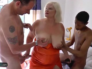 AgedLovE Famous Chesty Matures Hardcore Groupsex