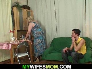 Old busty mom in law taboo sex