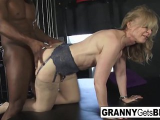 Fantastic Grannies get Huge Black Cocks