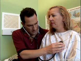 Naughty Mummy patient fucks the doctor
