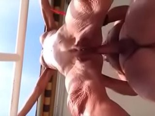 Puckered figure grandma anal fucked and Creampied