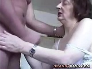 Erotic Granny  Buns