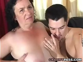 Granny Receives Assfuck