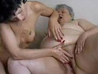 Granny gets fisted hard
