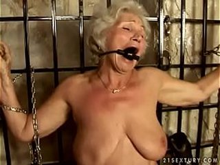 Granny Norma conforms her Sir