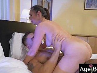 Granny Mariana's aroused about Mugur
