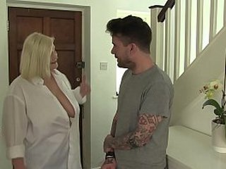 Horny Granny Lacey Starr Wants Her Models Massive Hard-on