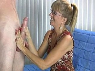 Granny Enjoys This Fat Cock
