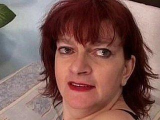 Redhead granny practicing assfuck sex