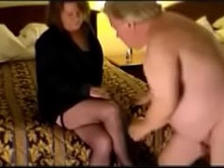 Old cuckold buxom bull dick and licking beaver and mancum at the end