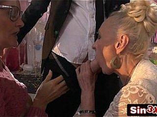 Fine Italian Talent Display XXX Fucktory - Outrageous Dual Granny Oral pleasure