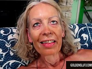 Grandma Super Super-sexy Has Her Asshole Drilled