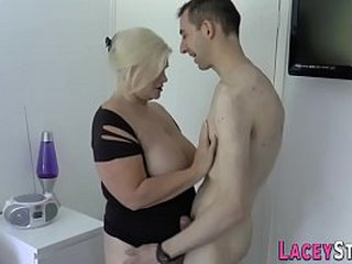 Anal with horny granny