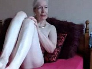 Amateur. Gorgeous horny granny wanks