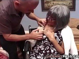 Chesty Granny Needs Sex