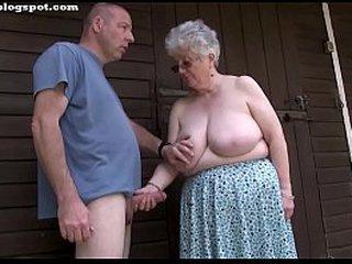 Fatty mature granny oral jobs and handjobs