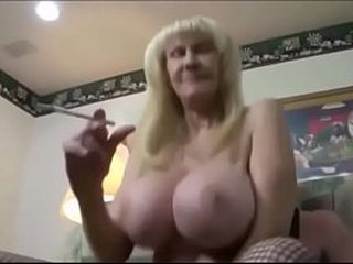 Fake big tits molten granny fucked by her youthfull paramour in front her hubby drizzling smoking