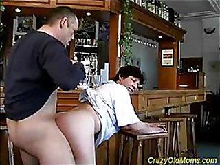 Mature lady liking cock