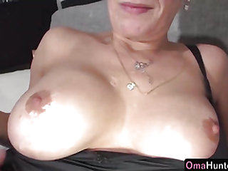 OmaHunter Teenage girl with belt cock pounds chubby mature