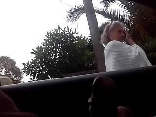 dickflash a granny
