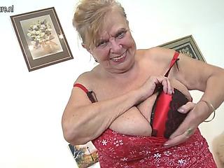 Granny hefty milk cans