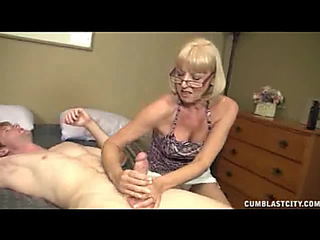 Granny Sucks Shlong And Receives A Expressed Facial
