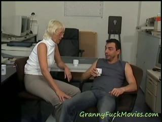 Witness hot granny pornography