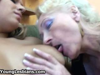 Wild granny loves deepthroating