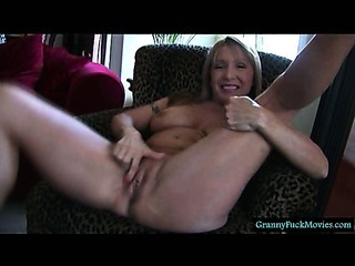 This sexy granny would really like to fuck you