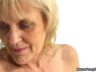 Grandma gets a full assets inspection from