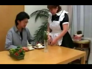 Japanese Granny Maids Pounded