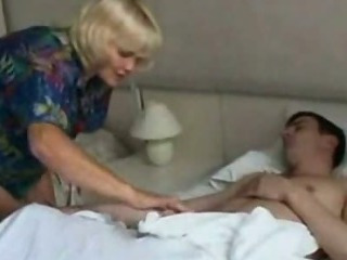 Scorching mom drilled by her son