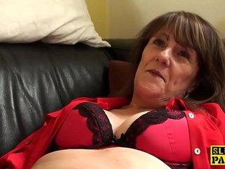 Clit pierced uk granny wanking