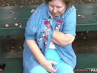 Granny Flashing In Public