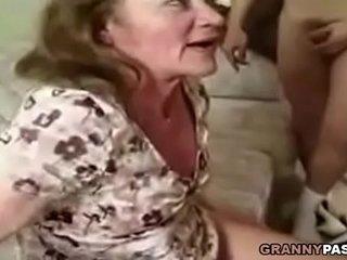 Granny Gangbang With Facial Jizz flow