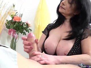 Big Titty Granny Handjobs is Finest Handjobs!